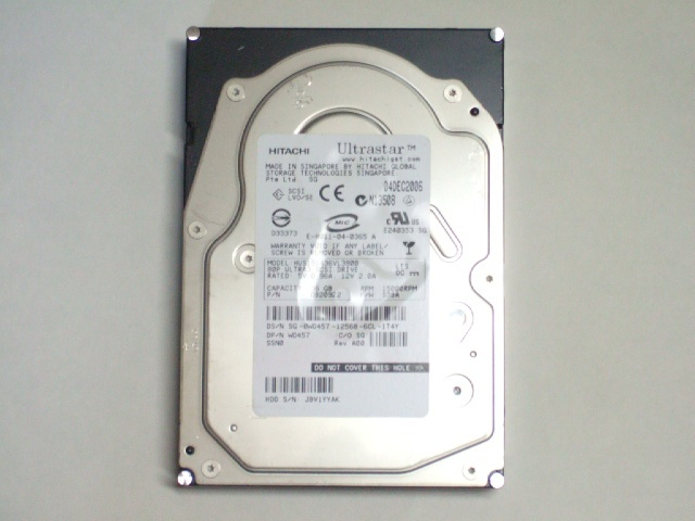 Ultrastar HUS151436 36GB 15000rpm U320 SCA 80pin