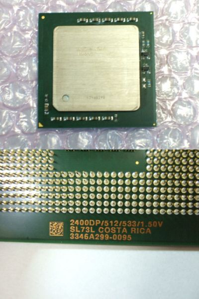 Intel Xeon 2.4GHz/512/533/1.50V/604pin SL73L