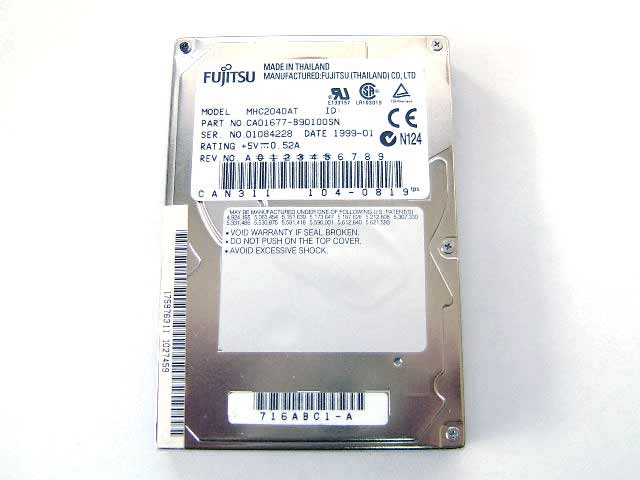 MHC2040AT ノート用 4.0GB HDD