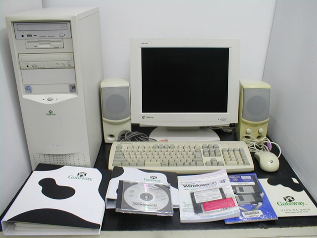 GP7-500 Gateway Windows98SE �ꥫ�Х�� CD�դ�