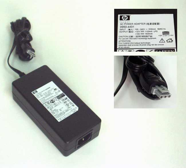 hp 0950-4491 32V 1.1A / 16V 1.6A  AC ADAPTER