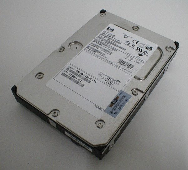 hp BF03685A35 36GB 15Krpm U320 SCA 80pin